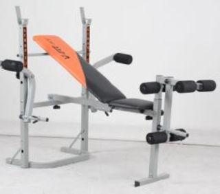 Banco de pesas musculacion multifuncion Pres banca