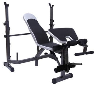 Banco de pesas musculación multifuncional Fitness