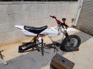 despiece pit bike malcor xz2 125
