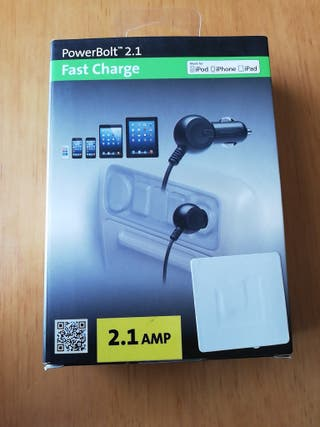 cargador coche iphone/ ipad