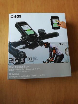 soporte móvil bici universal