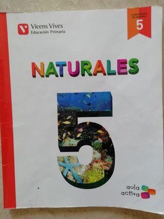 libro naturales 5°