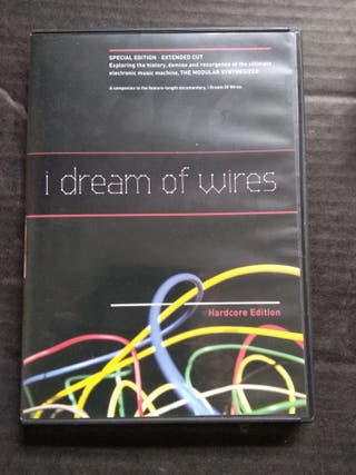DVD i dream of wires . sintetizador modular