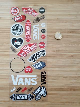 Pegatinas Skate marca Vans 100% originales
