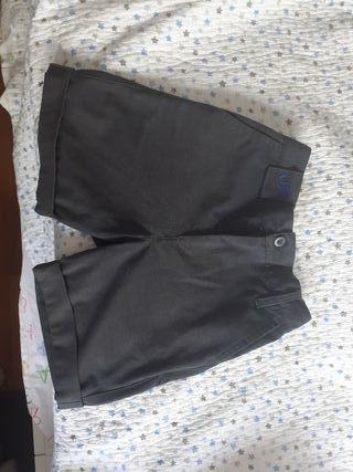 pantalon corto uniforme talla 6