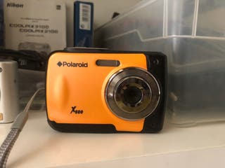 Cámara acuática Polaroid sumergible 3 metros