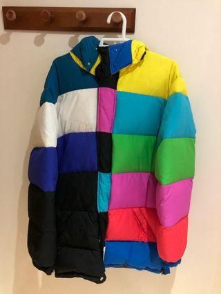Adidas jeremy scott chaqueta plumas