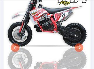 Mini cross MX50cc 9,5cv Nuevas