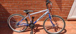 bicicleta infantil con marchas 24 pulgadas