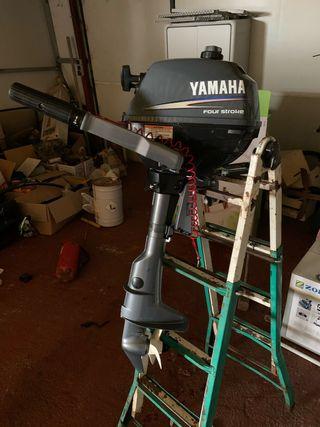 Motor fueraborda Yamaha 2,5cv