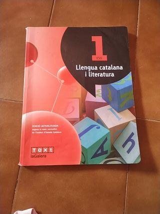 libro de catalan 1r Eso