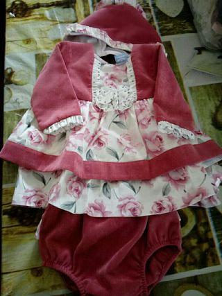 Vestido para niña.