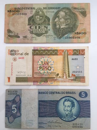 Billetes America
