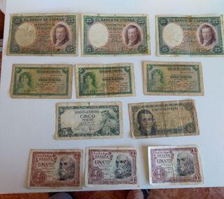 Vendo billetes españoles antiguos
