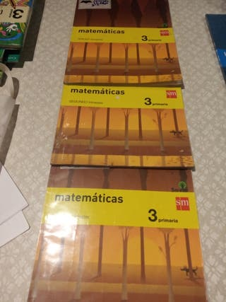 libros 3 matemáticas sm