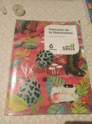 libro naturaleza de 6 primaria más savia