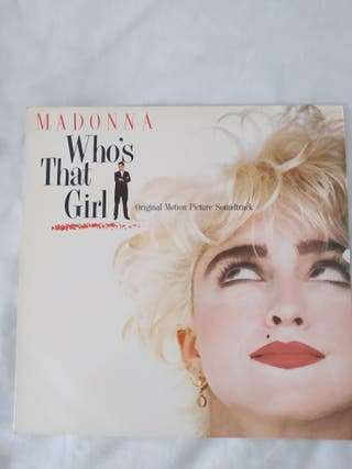 vinilo Madonna who's that girl