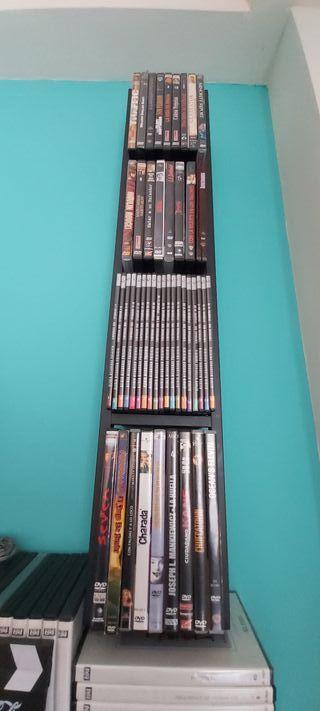 ESTANTERÍA PARA CDs y DVDs
