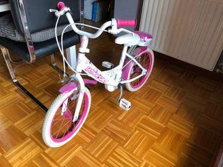 """Bicicleta niña 16"""" pulgadas"""