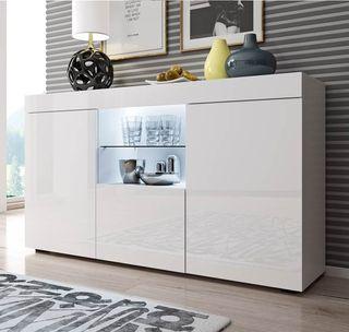 Mueble aparador Led para comedor salón moderno