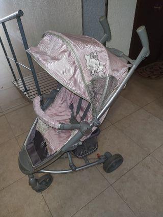 carro silla paseo muy ligera rosa hello kitty