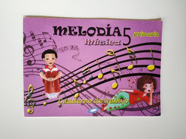 Cuaderno trabajo Melodía - 5° Primaria