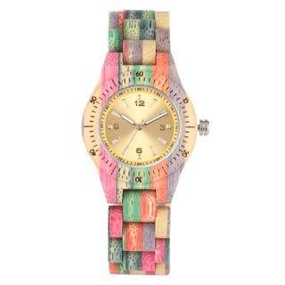 Reloj mujer de pulsera de madera