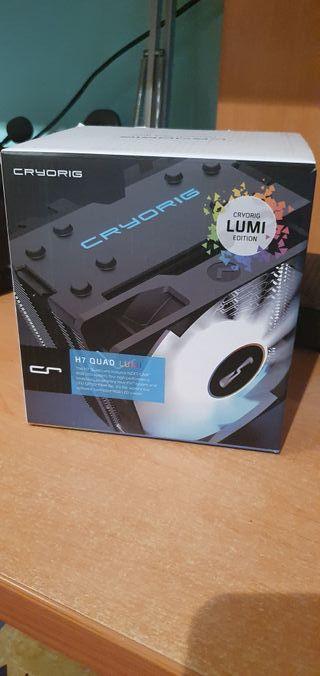Disipador Cyrorig H7 Quad Lumi PC