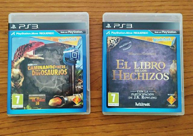 Wonderbook PS3 y dos videojuegos