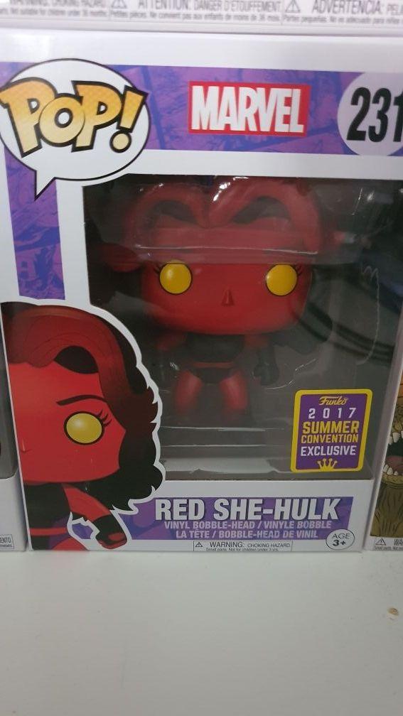 Funko Pop Red She Hulk