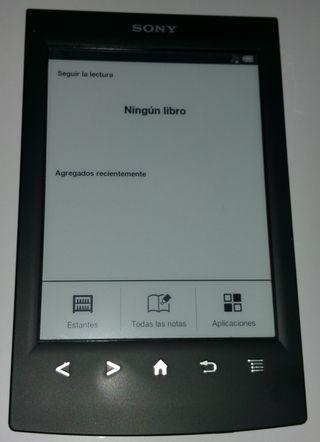 Libro electronico Sony
