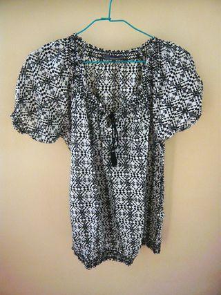 Camisa algodón étnica