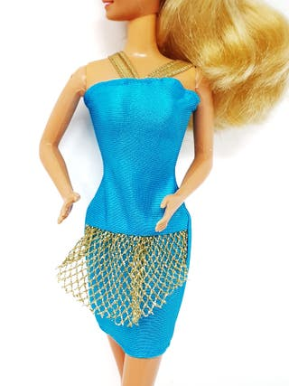 Vestido Easy to Dress Gift Set de Barbie 1992