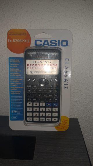 calculadora cientifica marca CASIO