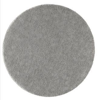 alfombra redonda gris Ikea 130 cm