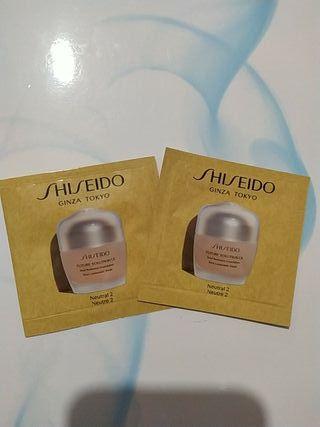 lote de base de maquillaje shiseido original