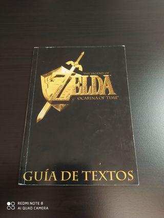 Guía de textos Zelda Ocarina of Time N64