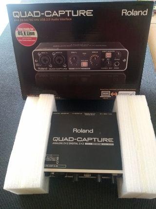 Interface de audio Roland Quad Capture