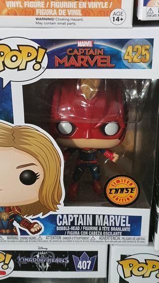 Funko Pop Capitana Marvel Chase