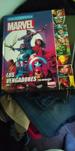 Enciclopedia de los vengadores,(coleccionable)