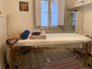 Camilla plegable de masaje/tratamientos estética