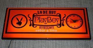 Oferta! Cartel luminoso de refresco marca PlayBoy.