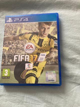 VIDEOJUEGO FIFA 17 PARA PS4