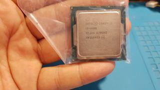 Procesador y disipador core i3 6100