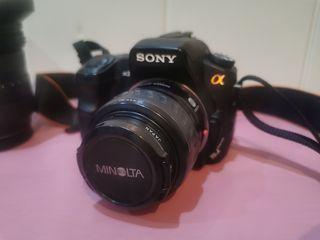 cámara reflex Sony alpha a200