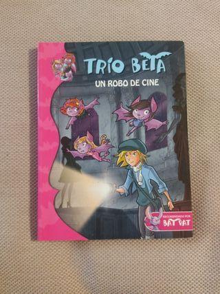 "libro infantil Bat Pat ""trío Beta"""