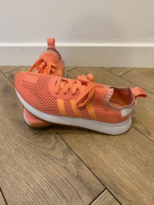 Bambas Adidas FLASHBACK PRIMEKNIT naranja 39