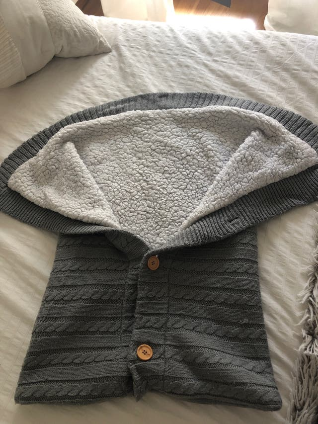 Saco bebé lana