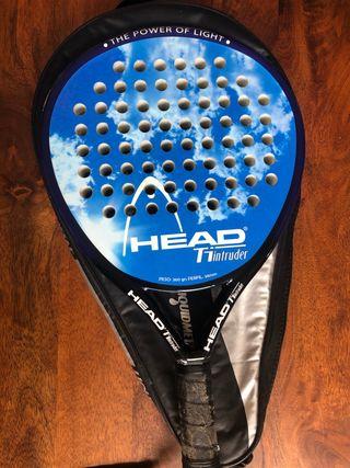 Raqueta padel Head T1 intruder con funda