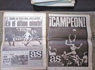Periodicos AS. Años 70